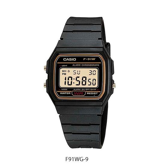 Reloj Casio F91WG (Hombre)