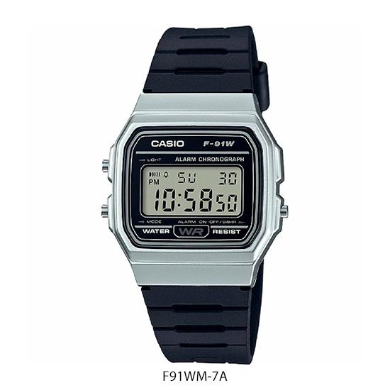 Reloj Casio F91WM (Hombre)